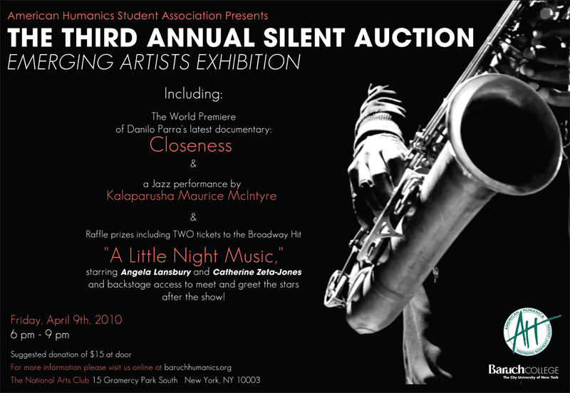Silent Auction Postcard - American Humanics
